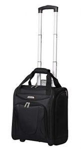 Aerolite - Aerolite Carry On Under Seat Wheeled Trolley Luggage Bag