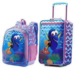 American Tourister Disney Collection 18 inch Upright and Backpack Set kids