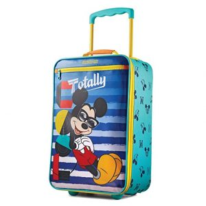 American Tourister Kids Softside 18 Upright, Disney Mickey Mouse