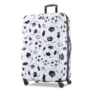 American Tourister Moonlight Spinner 28, White Black
