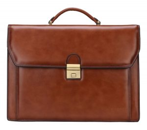 natural leather briefcase