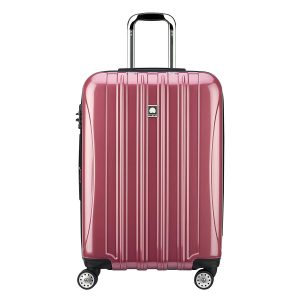 Delsey Luggage Helium Aero 25 Inch Expandable Spinner Trolley, Peony