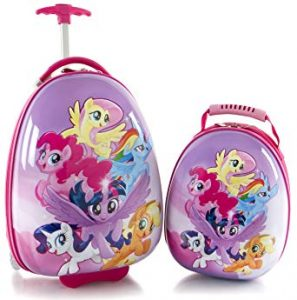 Heys America My Little Pony Kids 2 Pc Luggage Set -18 Carry On Luggage & 12 Backpack