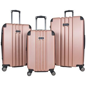 Kenneth Cole Reaction Reverb Hardside 8-Wheel 3-Piece Luggage Set