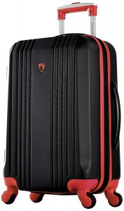 Olympia Apache Ii 21 Carry-on Spinner, Black+RED