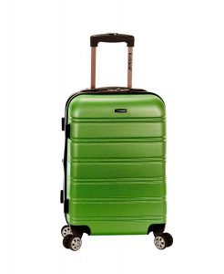 Rockland Melbourne 20 Expandable Abs Carry On
