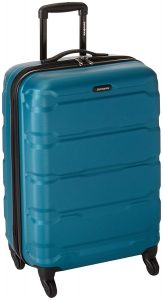 Samsonite Omni Pc Hardside Spinner 24, Caribbean Blue