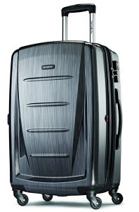 Samsonite Winfield 2 Hardside 24 Luggage, Charcoal