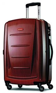 Samsonite Winfield 2 Hardside 24 Luggage, best lightweight luggage