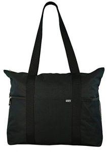 Shoulder travel Totes with Multiple Pockets and Zipper Closure