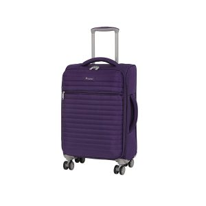 it luggage 21.5 Quilte Lightweight Expandable Spinner, Petunia