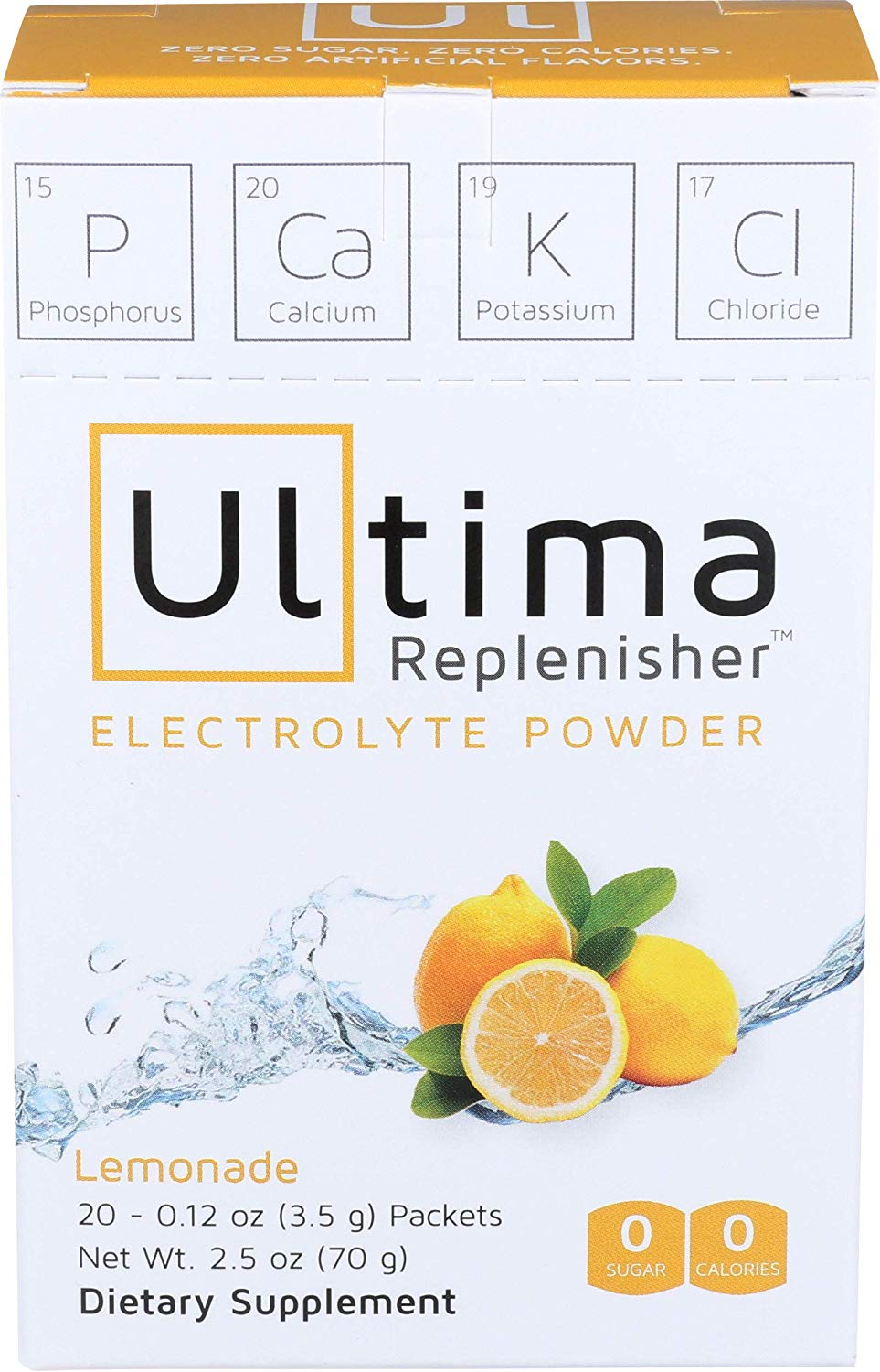 First aid kit for travellers - Electrolytes