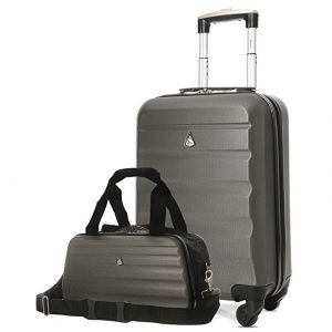 Approved Delta United Southwest Suitcase and Under Seat Holdall