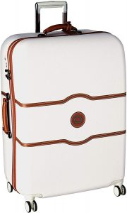checked chatelet suitcase