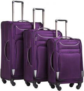 purple softshell set