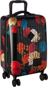 pattern suitcase