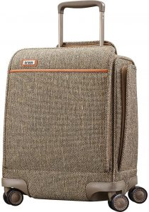 hartmann tweed suitcase
